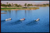 Outrigger Canoe Races at Lake Las Vegas Hawaiian Fest, Las Vegas considered 'Ninth Island'